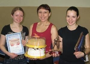 """Команда """"Микран"""" - 1 место, настольный теннис, женщины"""
