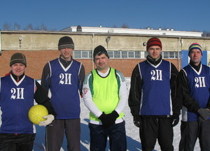 Команда ИИ - 2 место, футбол