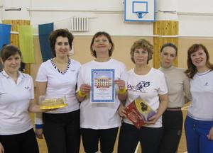 Серебро волейбольных соревнований - команда НУ+УУ