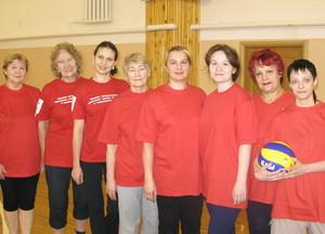 Команда ФЭТ - бронзовые призеры соревнований по волейболу