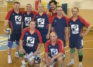 Призеры соревнований по волейболу - команда АХУ