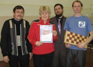 Победитили шахматных соревнований - ГФ