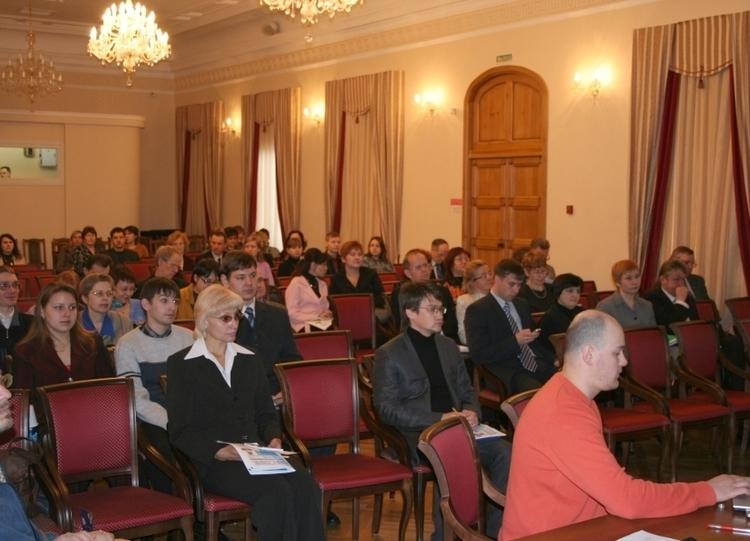 Участники отчетной конференции ТМЦДО - 2007