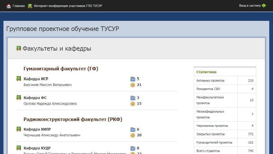 """АИС """"Проекты ГПО"""""""