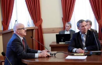 Состоялось первое занятие попрограмме повышения квалификации длязаведующих кафедрами идеканов факультетов ТУСУР