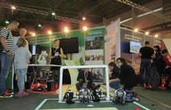 ТУСУР принял участие ввыставке Всероссийского фестиваля науки вКрасноярске