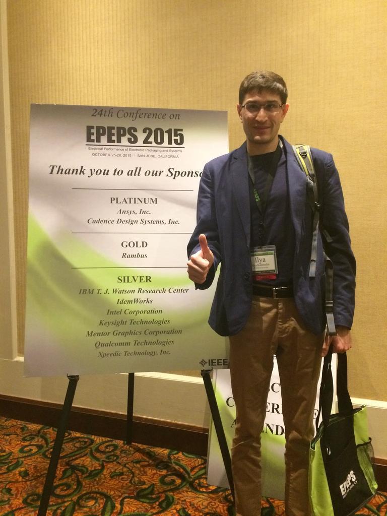 Сотрудник ТУСУР выступил наконференции EPEPS вКалифорнии, США