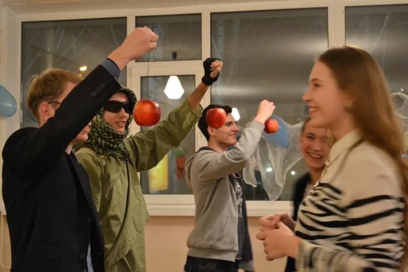 30октября студенты ТУСУР отпраздновали Halloween