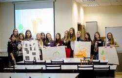 ВТУСУР впервые вТомске реализован проект дляшкольников 10– 11классов – «Зимняя школа менеджмента»