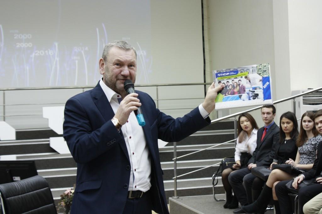 Ректор ТУСУР провёл живой диалог состудентами