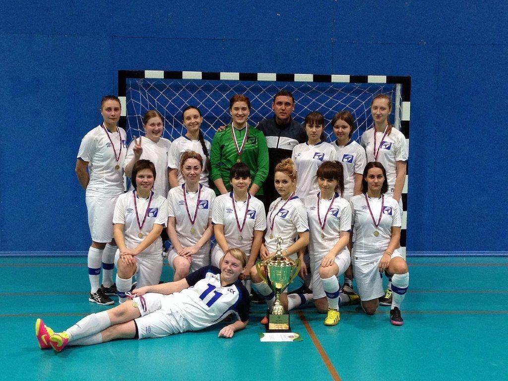 ТУСУР – победитель чемпионата Томской области помини-футболу 2015 года среди женских команд