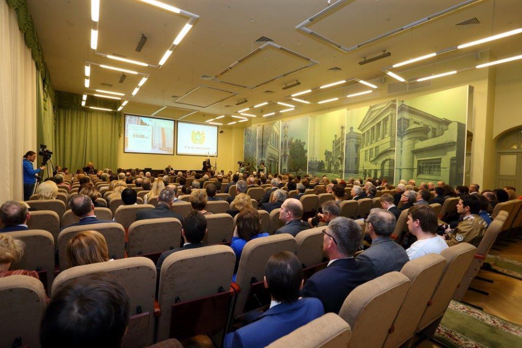 Делегаты ТУСУР приняли участие вПервом Съезде томичей вМоскве