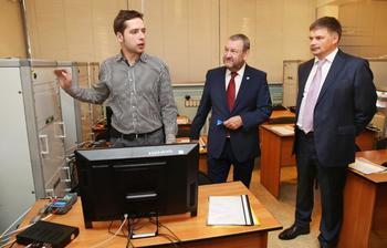 Пресс-релиз от26 ноября 2015 г.ТУСУР и«Ростелеком» создали научно-учебную лабораторию цифрового телерадиовещания