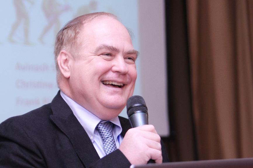 ТУСУР активно привлекает известных иностранных профессоров для чтения лекций. На фото Профессор Франк Ринальдо (США).