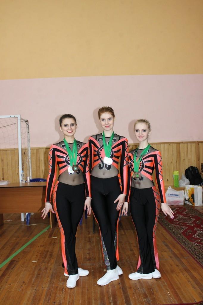 Студенты ТУСУР приняли участие вчемпионате ипервенстве города Томска поспортивной аэробике