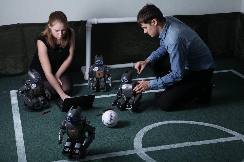 Нафоруме U-NOVUS пройдут первые вРоссии соревнования поробототехнике RoboCup