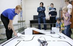 Teams of TUSUR University start preparations for RoboCup Russia Open 2016