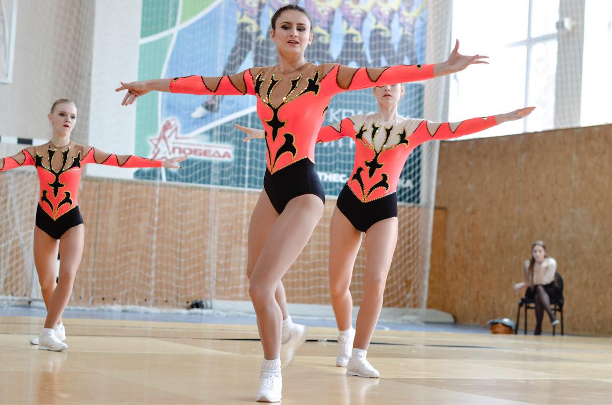 Чемпионат Томской области поспортивной аэробике