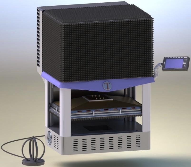 Климатическая экранированная ТЕМ-камера с закрытой дверью