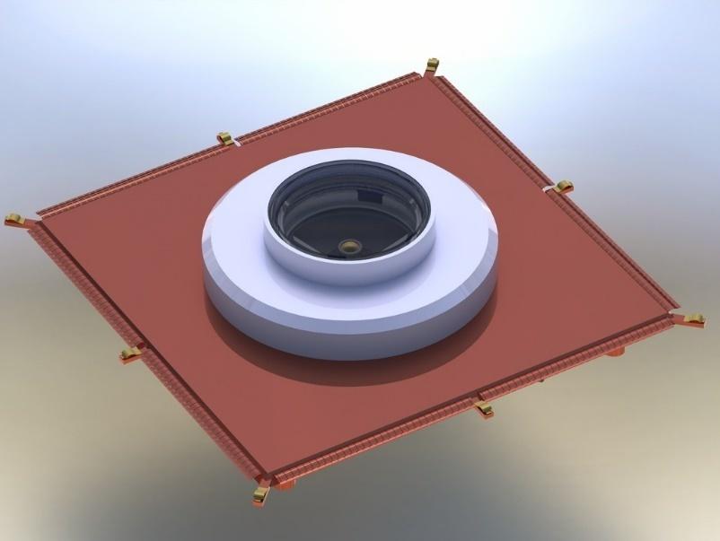 Климатическая экранированная ТЕМ-камера с испытательным столом для исследования биологических объектов
