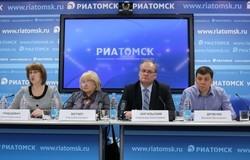 Вмедиацентре РИА«Томск» состоялась пресс-конференция натему «Особенности приёмной кампании исдачи ЕГЭабитуриентами в2016 году»