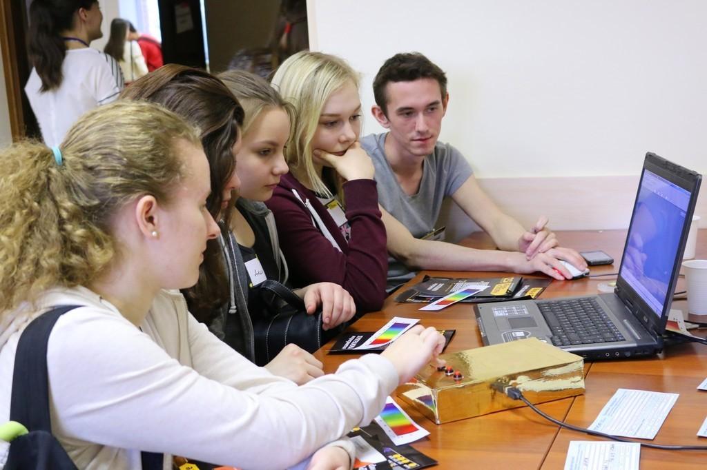 Томские школьники провели «Ночь вТУСУРе»