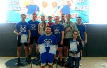 Сборная ТУСУРа вошла втройку сильнейших команд Томской области погиревому спорту