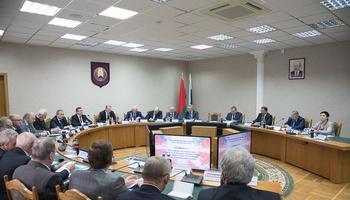 Ректор ТУСУРа работает наIII Форуме регионов России иБеларуси