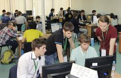 Белые хакеры ТУСУРа провели наIT-форуме вХанты-Мансийске соревнования поправилам CTF