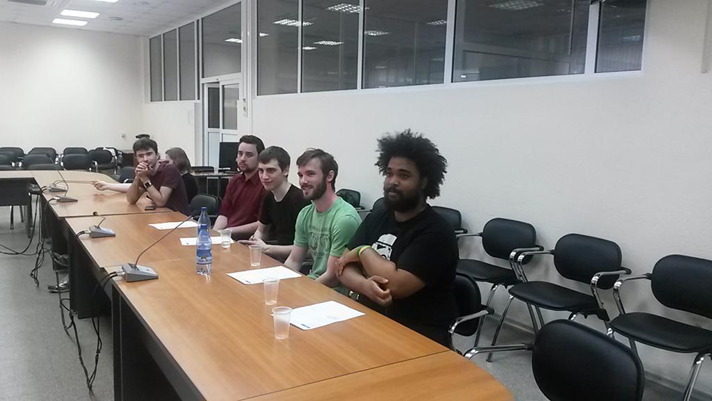 14июня вСБИ ТУСУР состоялась защита французских студентов изЕвропейского института информационных технологий (EPITECH)