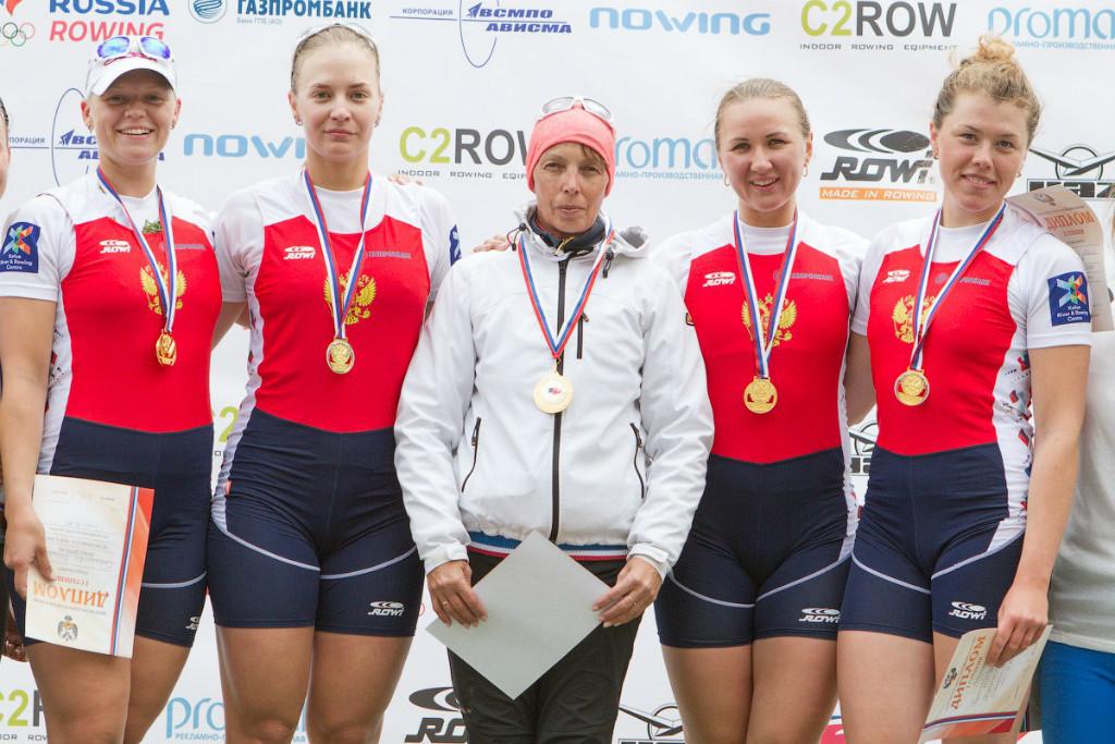 Аспирантка ТУСУРа стала дважды чемпионкой России поакадемической гребле