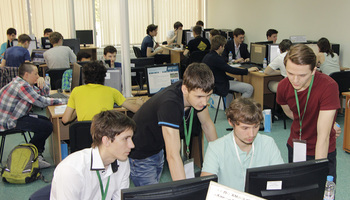 Пресс-релиз от10 июня 2016 г.Белые хакеры ТУСУРа провели наIT-форуме вХанты-Мансийске соревнования поправилам CTF