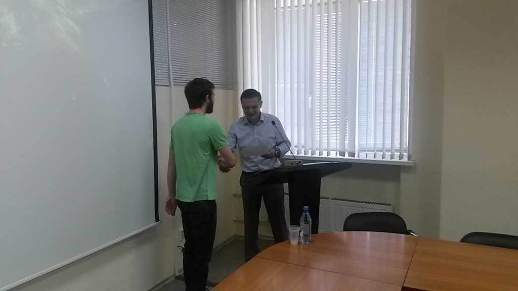 EPITECH students presented the results of their internship at TUSUR University