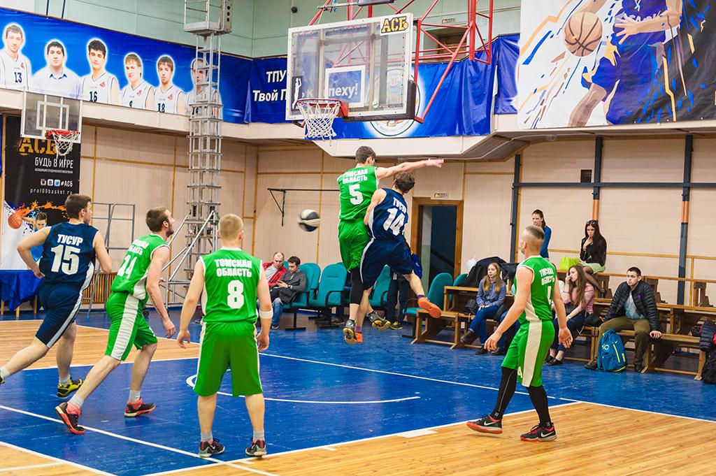 Студент ТУСУРа вошёл всостав резервной сборной Ассоциации студенческого баскетбола