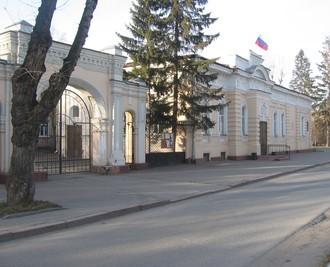 Фото А.Полоз. Дом ученых. Фасад здания со стороны ул.Советская, 2013 г.