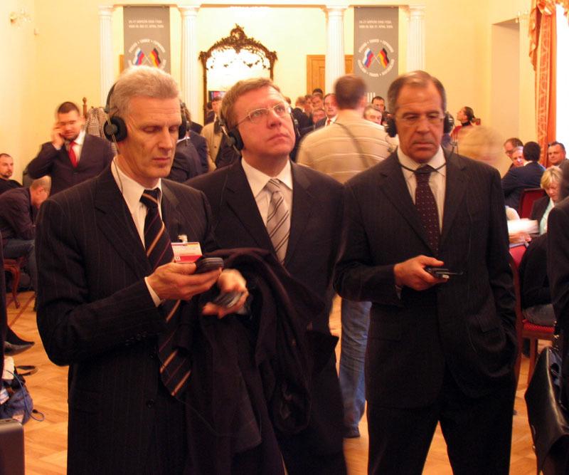 Министры в Доме учёных. Саммит, 2006 г. Фотоархив Дома учёных