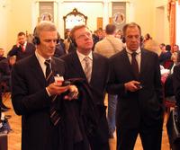 Министры в Доме учёных. Саммит, 2006 г.