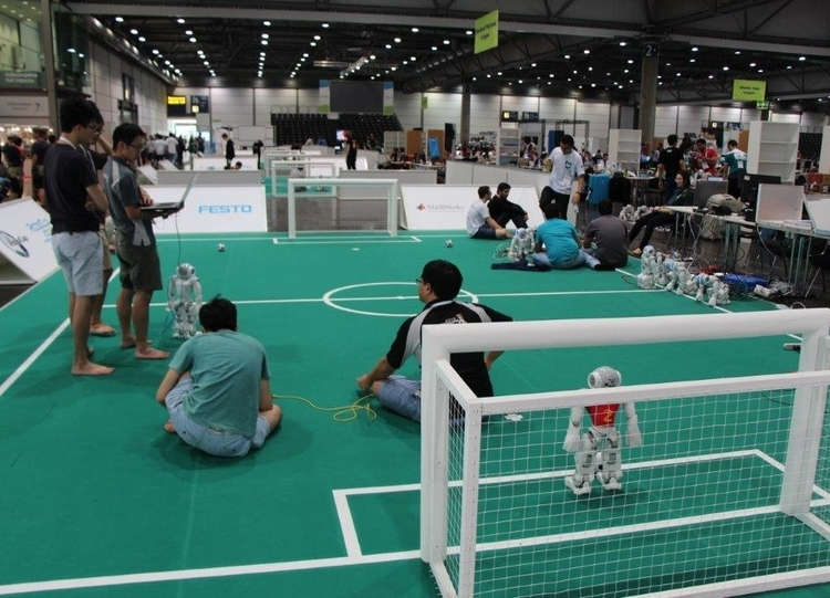 RoboCup World Final 2016 in Leipzig