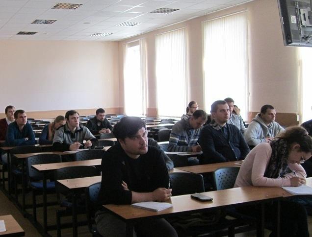 1октября наФПК ТУСУРа начались занятия дляаспирантов попрограмме «Образовательные технологии втехническом университете»