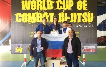 Кубок мира побоевому дзю-дзютцу завоевала студентка ТУСУРа