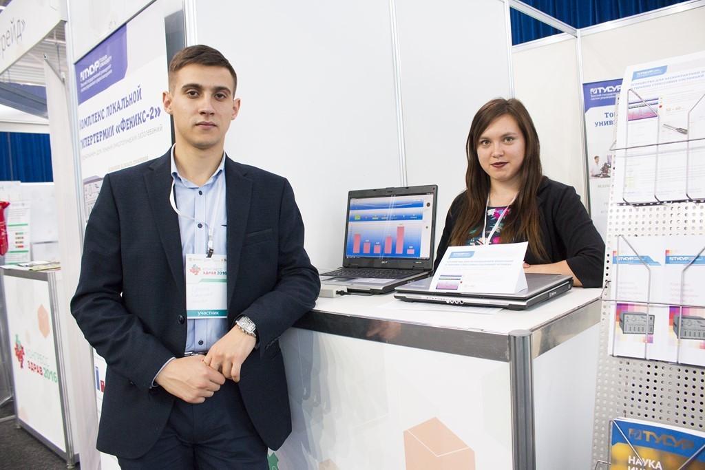 Учёные ТУСУРа представляют инновационные разработки всфере здравоохранения навыставке «Конгресс Здрав 2016»