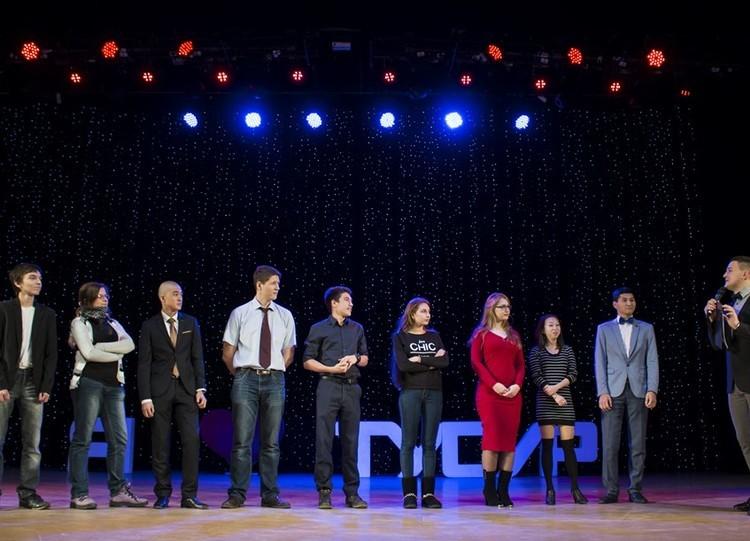 Посвящение первокурсников ТУСУРа встуденты
