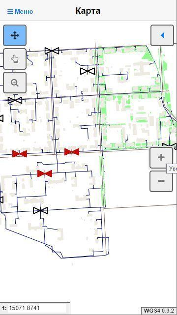 Геоинформационная система ведения электронного генерального плана WGS4 для работы на мобильных устройствах