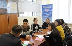 Anew group of students from Mongolia started itsfoundation course atTUSUR