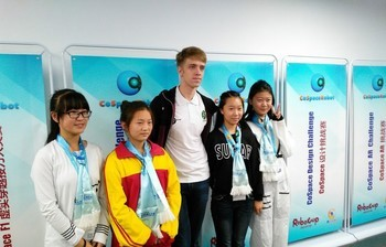 TUSUR student participated in the World Robot Conference in Beijing