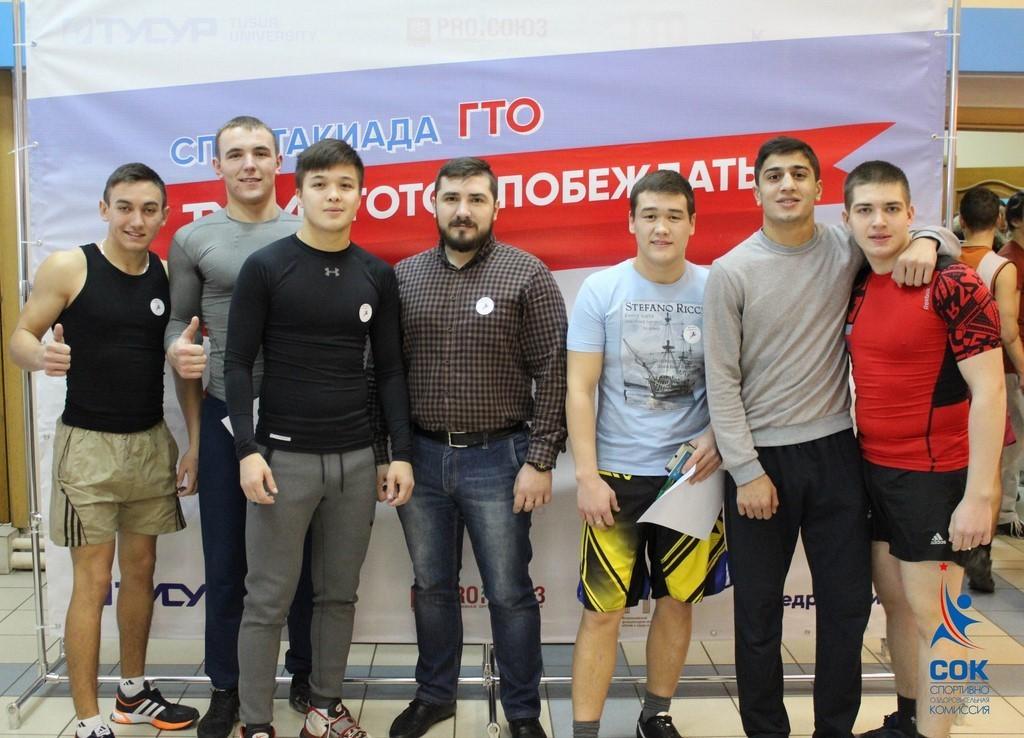 ВТУСУРе состоялся официальный этап спартакиады ГТО