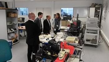 Delegation ofTUSUR hasvisited theIMS Laboratory atthe University ofBordeaux