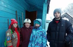 Пресс-релиз от10 января 2017 г.Волонтёры ТУСУРа помогают городу вочистке дворов отснега