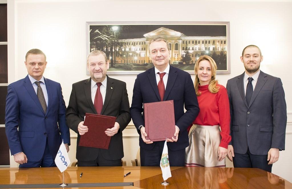 ТУСУР иКорпорация развития Томской области подписали соглашение осотрудничестве