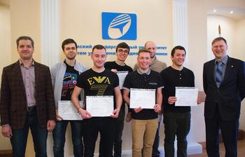 Вручение сертификатов международного уровня